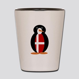 Penguin of Denmark Shot Glass