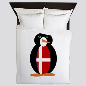 Penguin of Denmark Queen Duvet