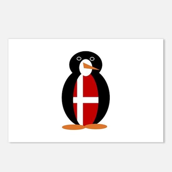 Penguin of Denmark Postcards (Package of 8)