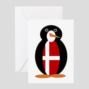 Penguin of Denmark Greeting Cards