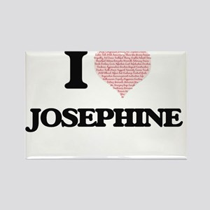 I love Josephine (heart made from words) d Magnets