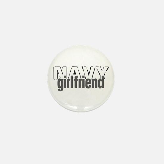 Navy Girlfriend Mini Button