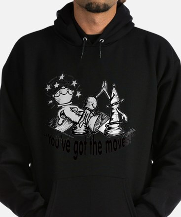 Chess Cartoon 'T=You've Hot the Moves Sweatshirt