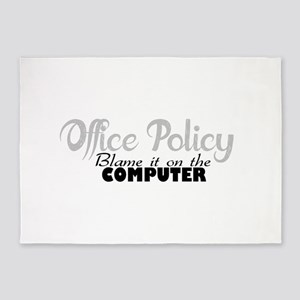 office policy 5'x7'Area Rug