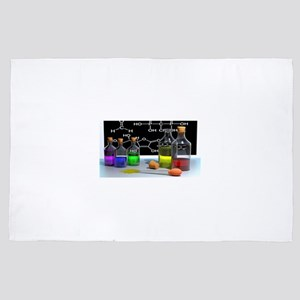Rainbow Chemistry Lab 4' x 6' Rug