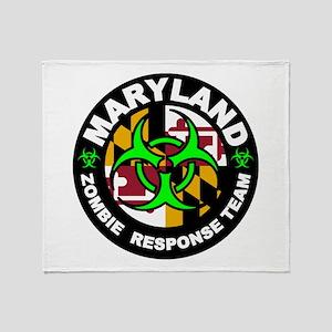 MD ZRT Green Throw Blanket