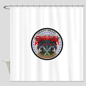 Baboon Coin Shower Curtain