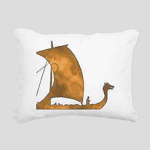 Viking Voyage Rectangular Canvas Pillow
