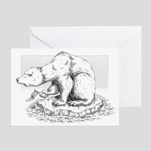 BiPolar Bear Christmas Card (single)