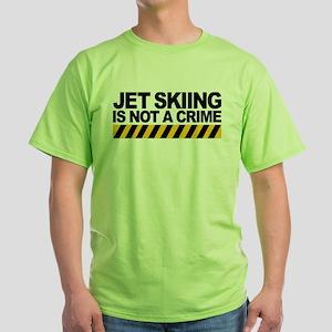 3-JS NotACrime-CEfor white T-Shirt