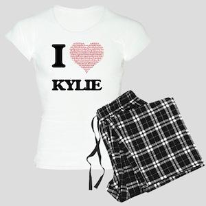 I love Kylie (heart made fr Women's Light Pajamas