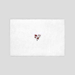 Red Rose 4' x 6' Rug