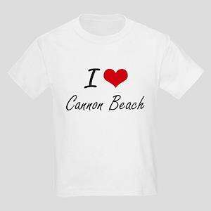 I love Cannon Beach Oregon artistic design T-Shirt