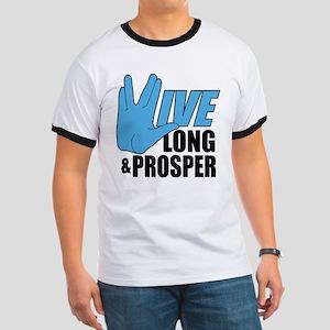 Live Long Prosper Ringer T