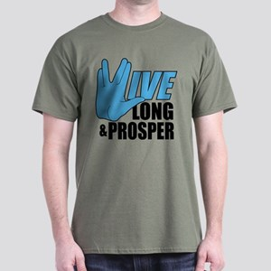 Live Long Prosper Dark T-Shirt