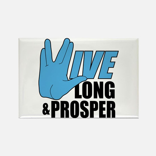 Live Long Prosper Rectangle Magnet