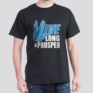 Live Long Prosper Dark T-Shirt