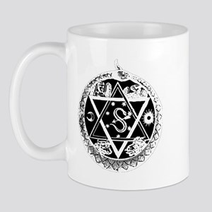 Luxorwhiteblack Mugs