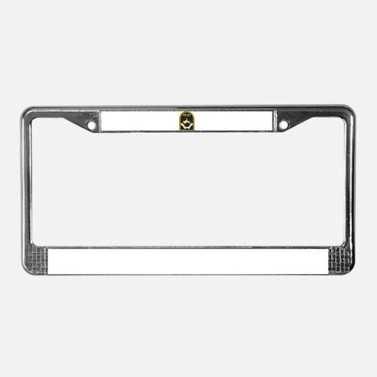 Omaha Nebraska Police License Plate Frame