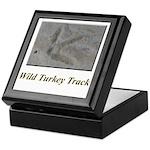 Wild Turkey Track Keepsake Box