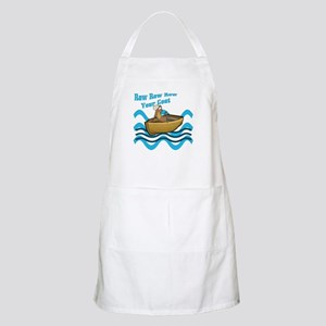 Row Your Goat BBQ Apron