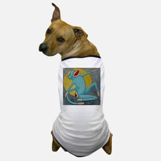Bonnie Blue Sock Monkey Dog T-Shirt
