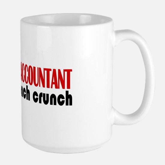 Dedicated Accountant Large Mug