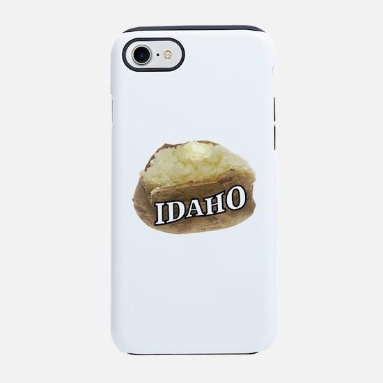 baked potato Idaho iPhone 8/7 Tough Case