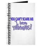 You Can't Scare Me - Teenagers! Journal