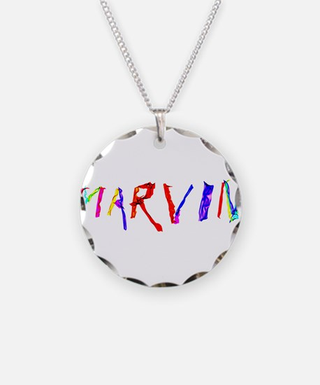 Marvin Personalized Wind Swe Necklace