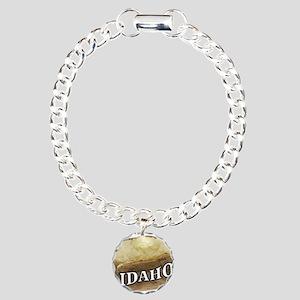 baked potato Idaho Charm Bracelet, One Charm