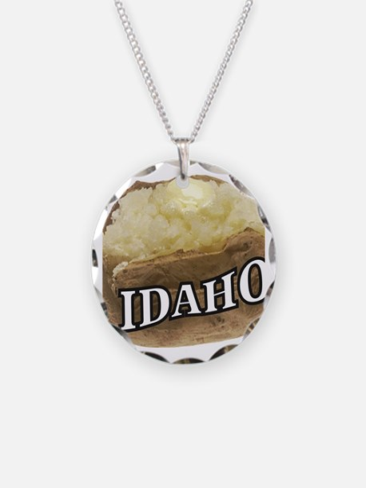 baked potato Idaho Necklace