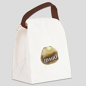 baked potato Idaho Canvas Lunch Bag
