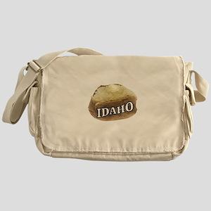 baked potato Idaho Messenger Bag