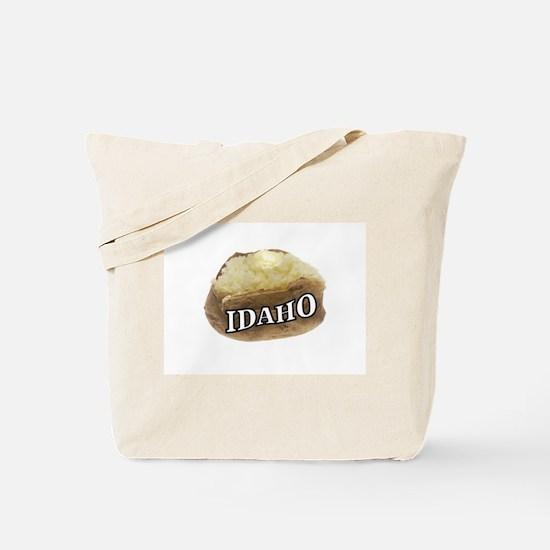 baked potato Idaho Tote Bag