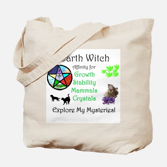 Earth Witch Tote Bag