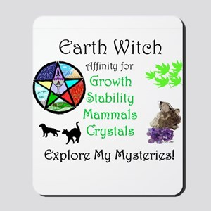 Earth Witch Mousepad