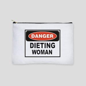 dieting woman fun Makeup Bag