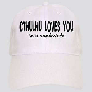 Cthulhu Loves You Cap