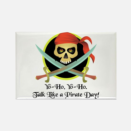 Pirate Day Rectangle Magnet