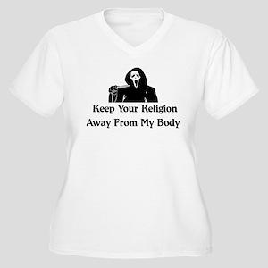Freethinker Shirt Women's Plus Size V-Neck T-Shirt