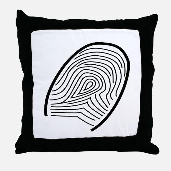 Subtle Thumb Print Throw Pillow