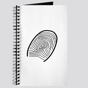 Subtle Thumb Print Journal