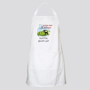 Haven't Fed Goats Yet BBQ Apron
