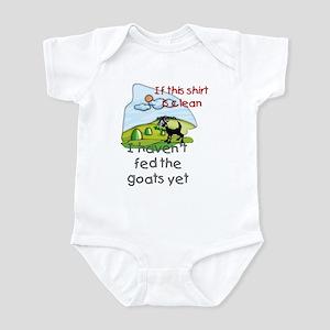 Haven't Fed Goats Yet Infant Bodysuit