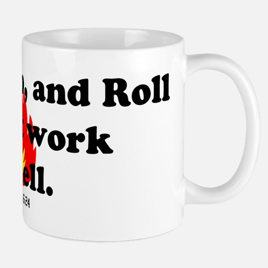 Stop Drop and Roll Mug