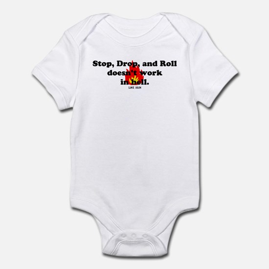 Stop Drop and Roll Infant Bodysuit
