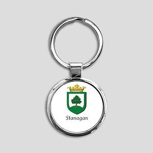 Flanagan Family Crest Keychains