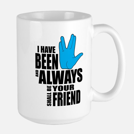 Spock Friend Large Mug
