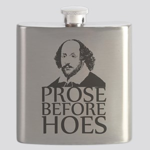 Prose Before Hoes Flask